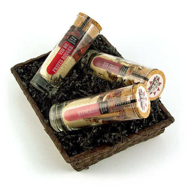 Trio pour vins gourmands - la corbeille garnie