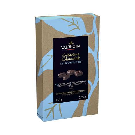 Valrhona - Coffret chocolats fins noir - Valrhona