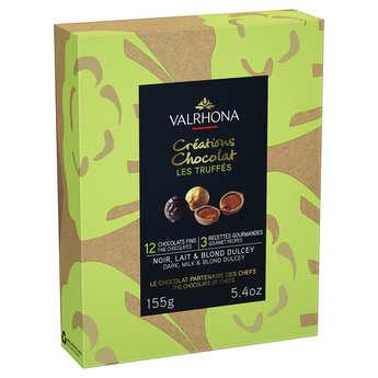 Valrhona - Coffret truffes au chocolat assorties - Valrhona