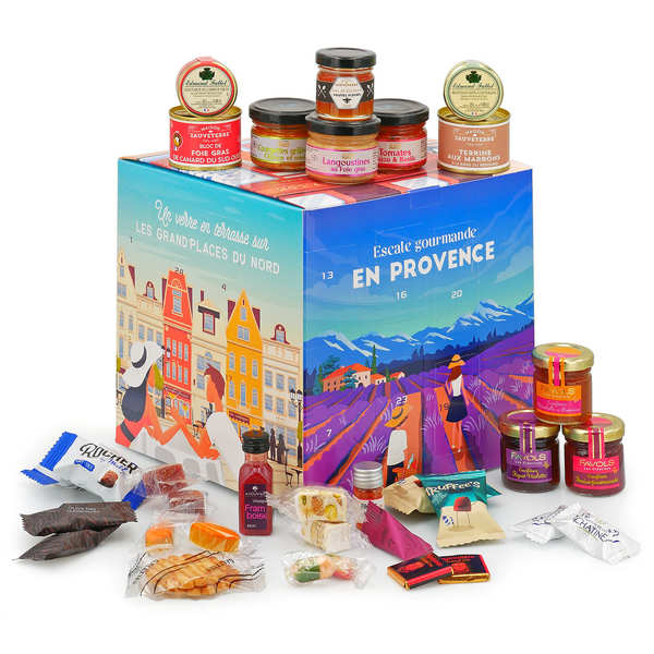 French Delicatessen Advent Calendar