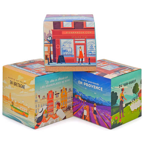 BienManger paniers garnis - French Delicatessen Advent Calendar
