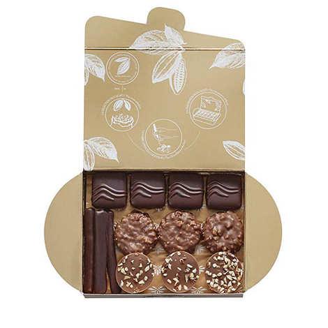 Valrhona - Ballotin assortiment de 25 chocolats - Valrhona