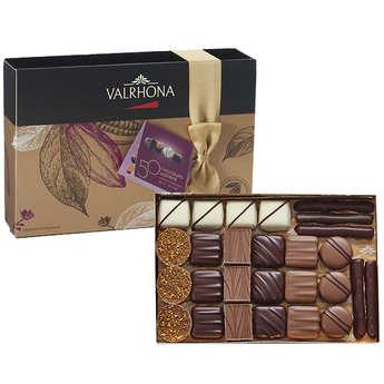 Valrhona - Assortment of 50 Chocolate by Valrhona