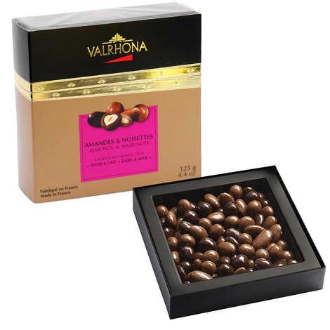 Valrhona - Almond and Hazelnut with Grand Cru Dark and Milk Chocolate Gift box - Valrhona