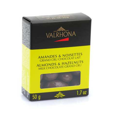 Valrhona - Amandes et noisettes au grand cru chocolat lait - Valrhona