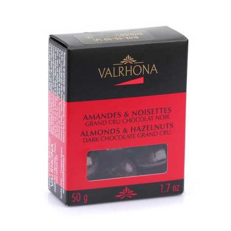 Valrhona - Almonds and Hazelnuts with Dark Chocolate - Valrhona