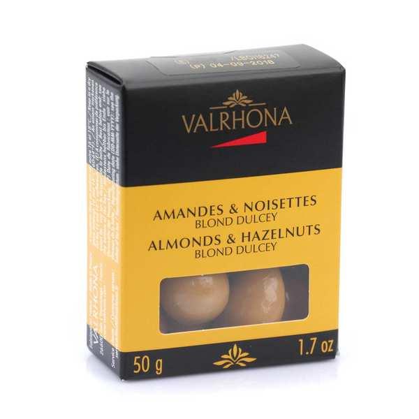 Amandes et noisettes au chocolat dulcey - Valrhona