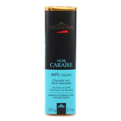 Valrhona - Bâton de chocolat noir Caraïbe 66% - Valrhona