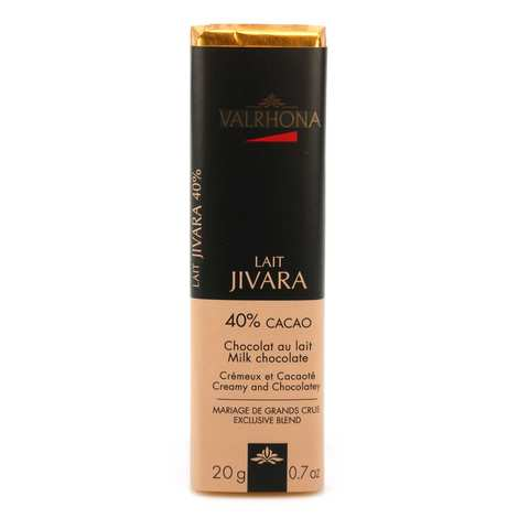Valrhona - Bâton de chocolat au lait Jivara 40% - Valrhona