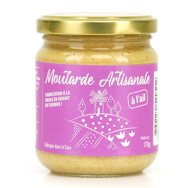 Mustard with Garlic from Lautrec (France)