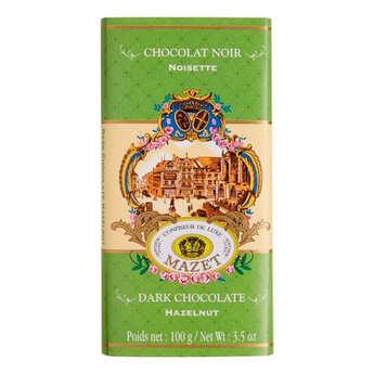 Mazet de Montargis - Tablette de chocolat gianduja noisette