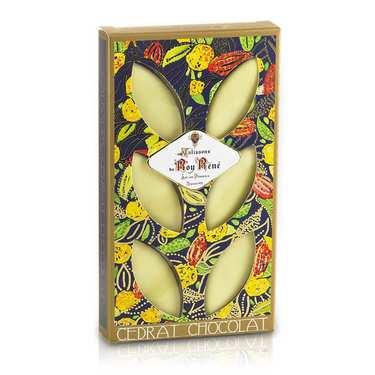 Calissons d'Aix Roy René chocolat cédrat - étui décoré