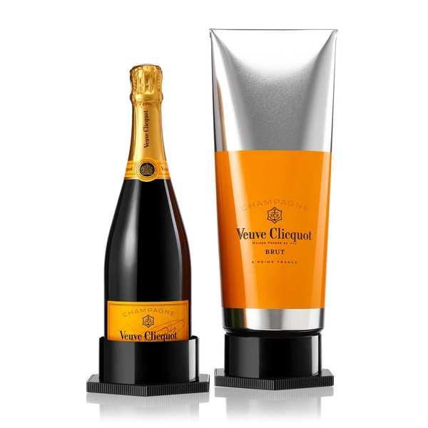 Coffret Champagne Gouache Veuve Clicquot - Brut Carte Jaune