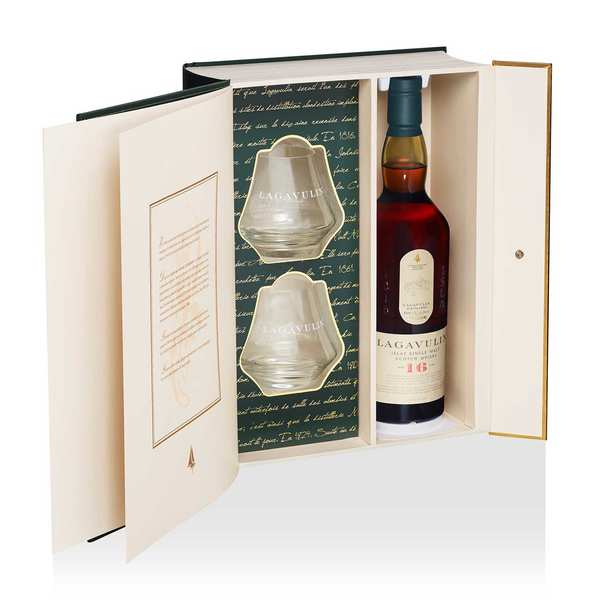 Whisky Lagavulin 16 ans 43% - Coffret 2 verres