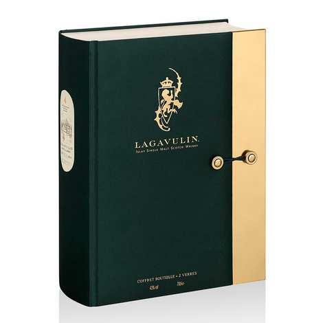 Lagavulin - Whisky Lagavulin 16 ans 43% - Coffret 2 verres