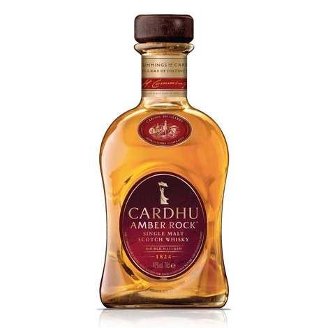 Cardhu - Cardhu Amber Rock 40% - Coffret whisky 2 verres