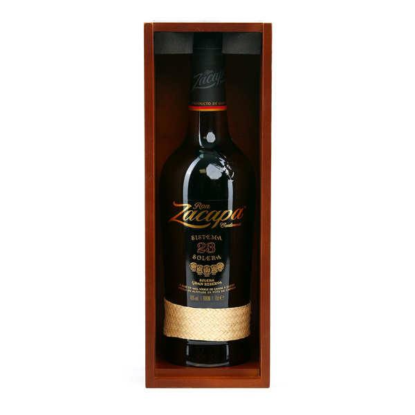 Zacapa 23 Rhum du Guatemala 40% - Coffret 2 verres