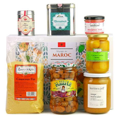 BienManger paniers garnis - Mediterranean Specialties Gift Box