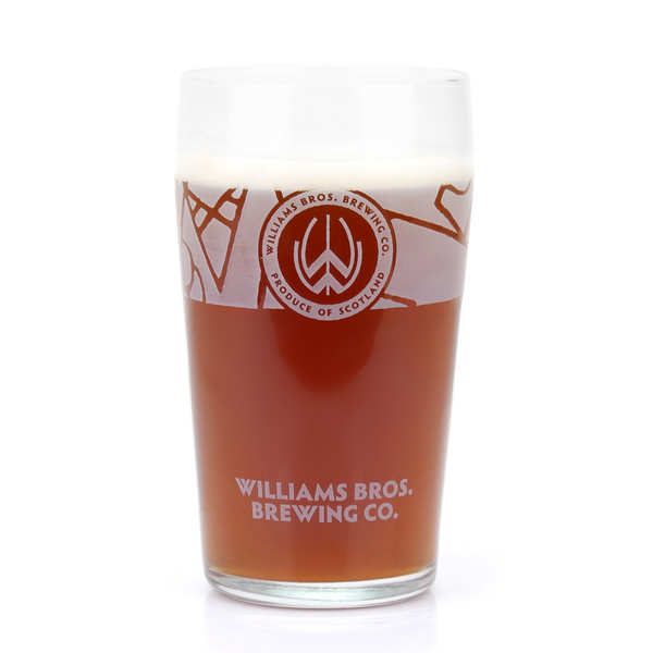 Williams Bros Brewing Glass