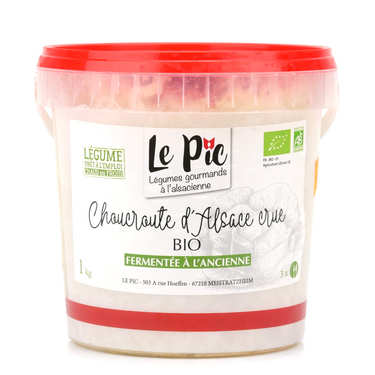Organic Raw Sauerkraut from France
