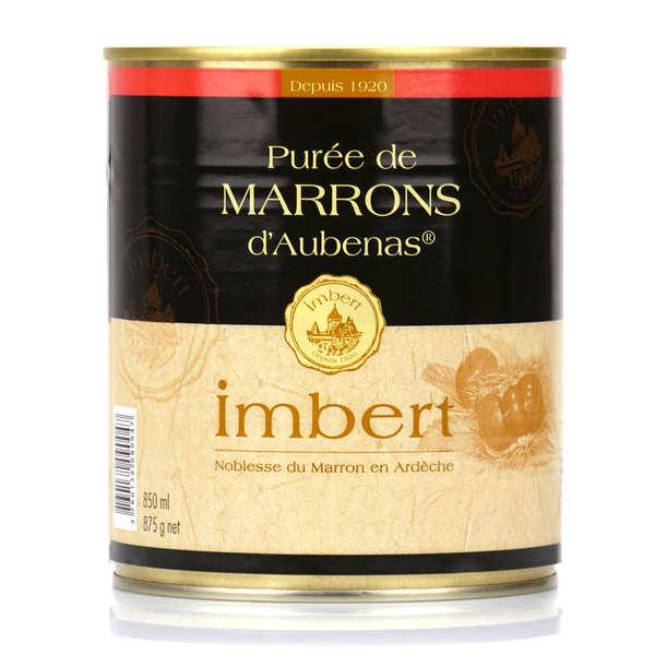Purée de marrons non sucrée d'Aubenas gros conditionnement