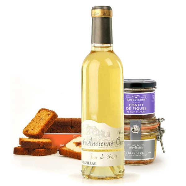 Assortiment gourmand autour du foie gras