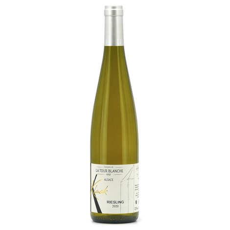 Domaine de la Tour Blanche - Riesling Domaine de la Tour Blanche vin blanc d'Alsace