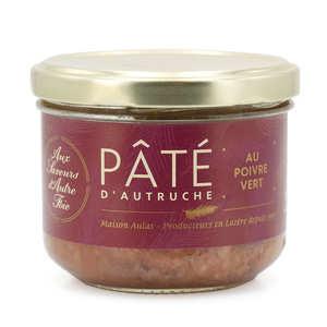 Jean Claude Aulas - Pâté d'autruche au poivre vert