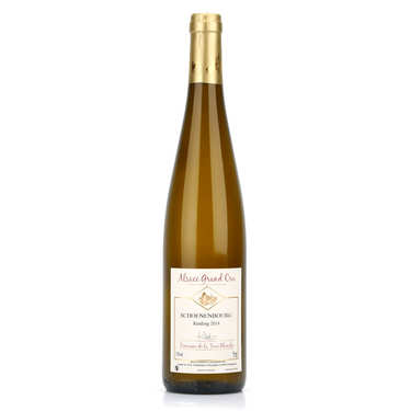 White Wine from Alsace - Riesling Grand Cru Schoenenbourg