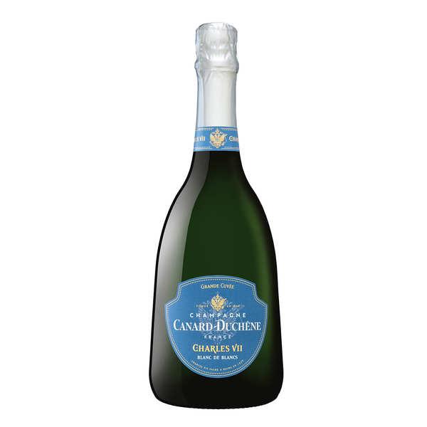 Champagne canard duchêne cuvée charles vii blanc de blancs brut - bouteille 75cl