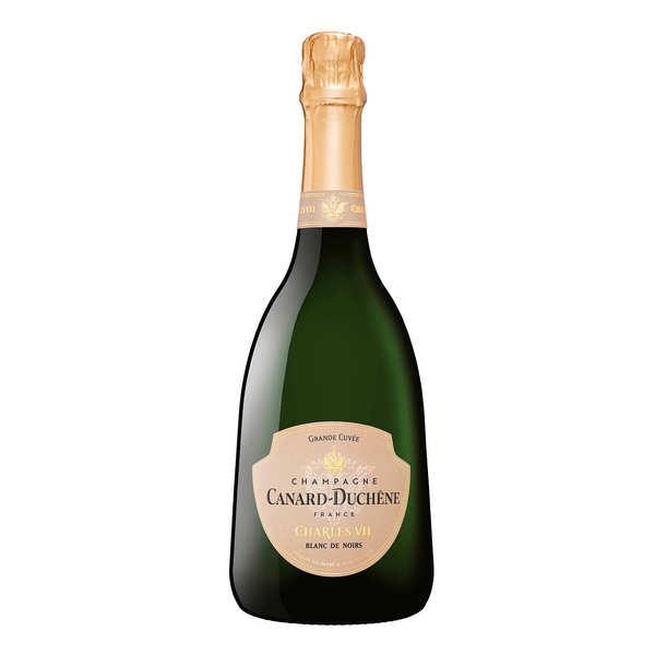 Champagne canard duchêne cuvée charles vii blanc de noirs brut - bouteille 75cl