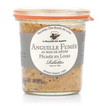 La Bourriche aux Appétits - Smoked Eel Rillettes from Loire
