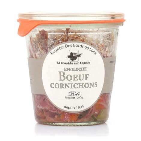 La Bourriche aux Appétits - Pâté d'effiloché de boeuf et cornichon