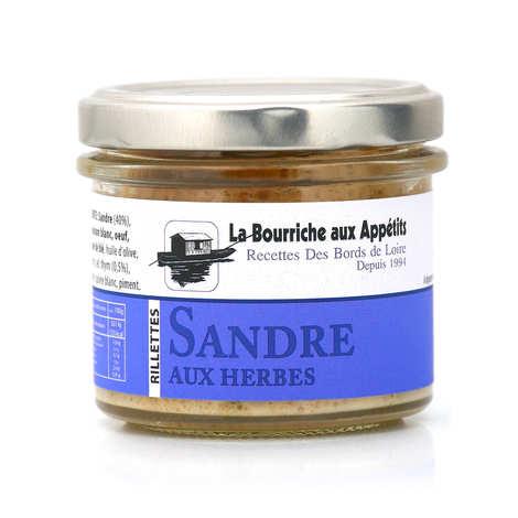 La Bourriche aux Appétits - Rillettes de sandre aux herbes