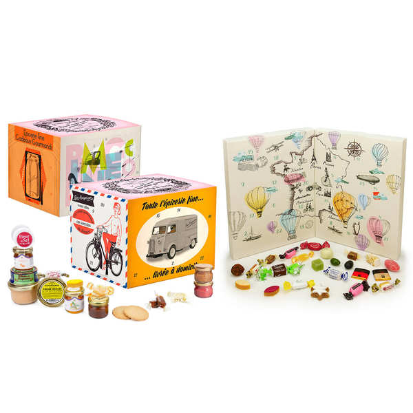 French Delicatessen Advent Calendars Assortment