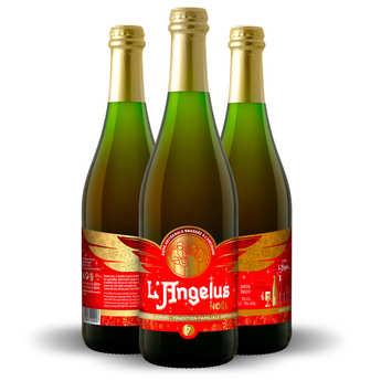 Brasserie Lepers - L'Angélus - Bière L'angelus de Noël 7.5%
