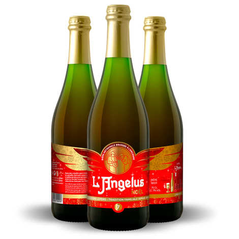 Brasserie Lepers - L'Angélus - L'Angelus de Noël Christmas French Beer 7.5%
