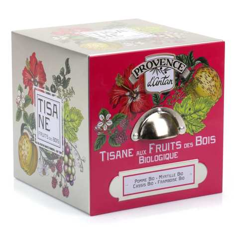 Provence d'Antan - Organic Fruits of the Forest Herbal Tea From Provence