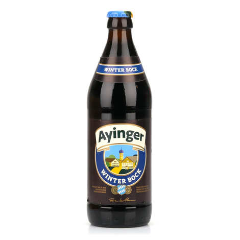 Brasserie Ayinger - Ayinger Winter-Bock - Bière de Noël allemande 6.7%
