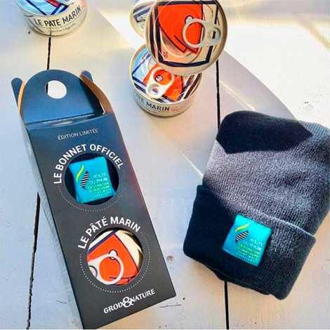 Groix & Nature - Route du Rhum gift box with paté and sailing cap