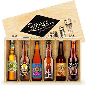 BienManger paniers garnis - Caisse de 6 bières bio