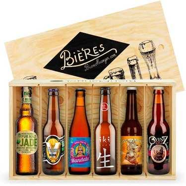 Caisse de 6 bières bio