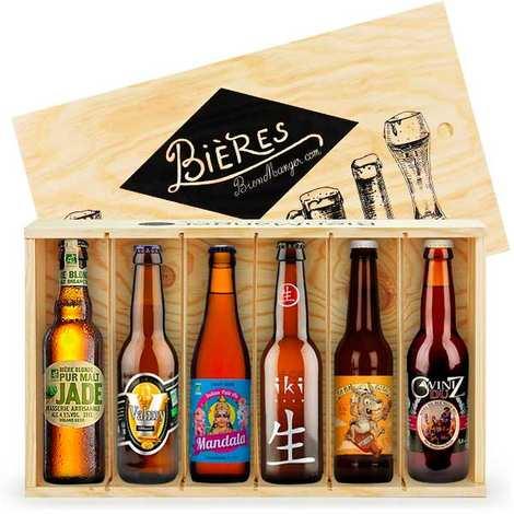 BienManger paniers garnis - Organic French Beers Gift Set