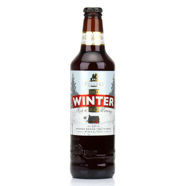 Fuller's Winter- bière brune d'Angleterre- 5.3%