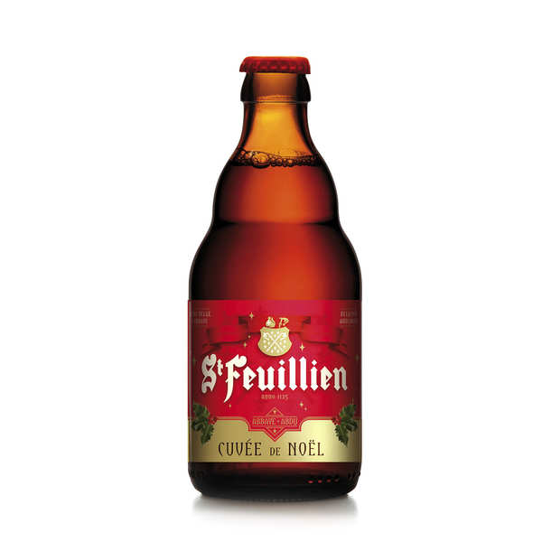 St-Feuillien Cuvée de Noël - bière belge ambrée 9%