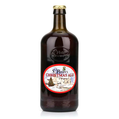 St Peter's Brewery - St Peter's Christmas Ale - amber ale- 7%