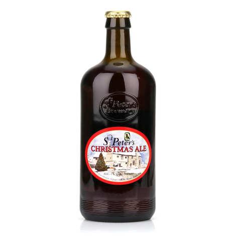 St Peter's Brewery - St Peter's Christmas Ale - bière anglaise de Noël ambrée- 7%