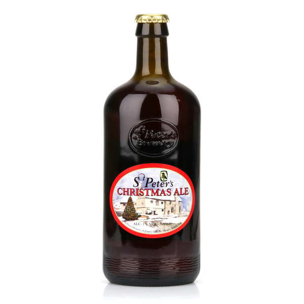St Peter's Christmas Ale - bière anglaise de Noël ambrée- 7%