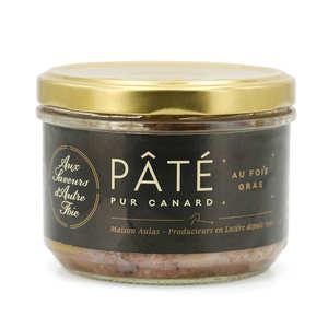 Jean Claude Aulas - Pâté pur canard au foie gras de canard