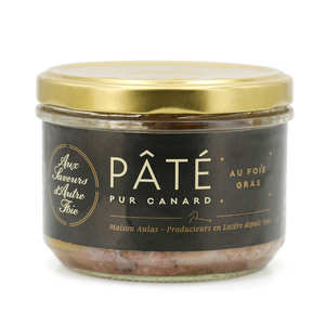 Jean Claude Aulas - Pure Duck Pâté with Duck Foie Gras